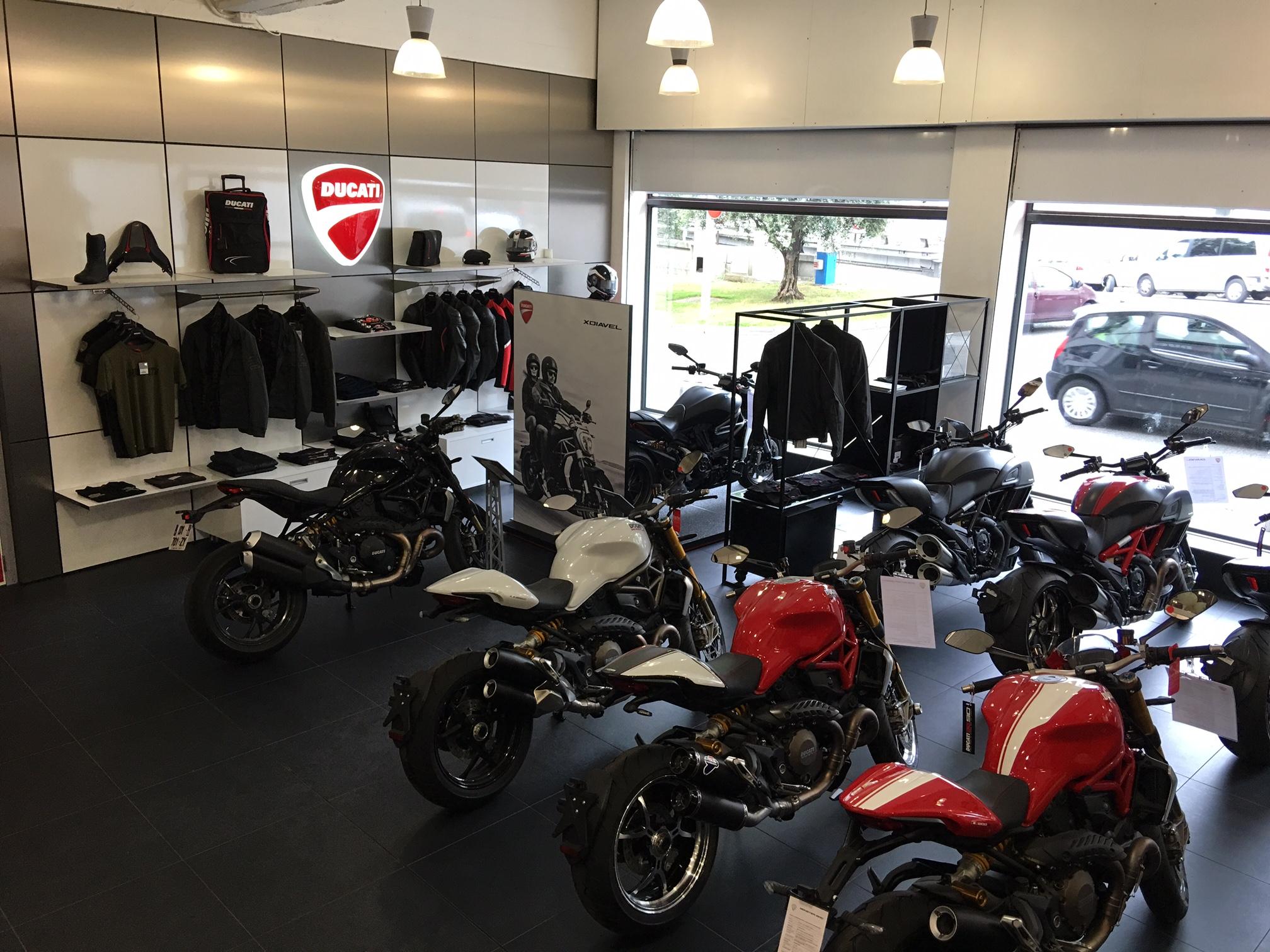 Show Room Ducati Nice