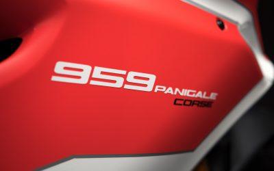 Nouveauté 2018 : Panigale 959 Corse