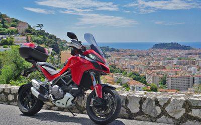 De Nice à Monaco au guidon de la Multistrada avec Armin Hoyer