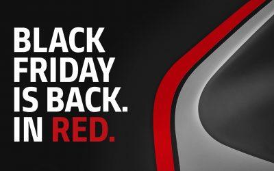 Red Friday : jusqu'à 50% de remise