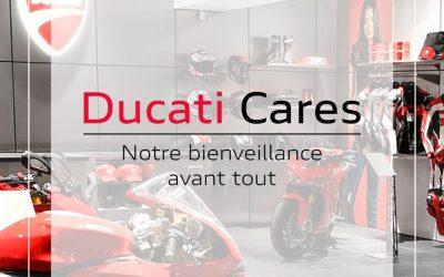 Nous sommes ouverts #ducaticares