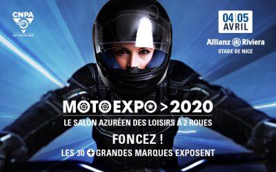 Salon Moto Expo 2020 – Annulé